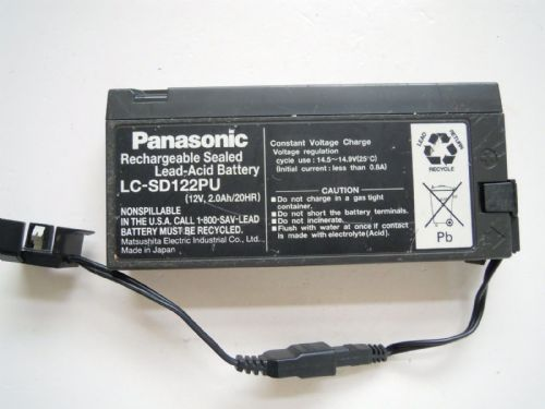 PANASONIC RECHARGEABLE SEALED BATTERY WITH 2 CONNECTORS FOR PHASE ONE